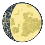 上弦と満月の間